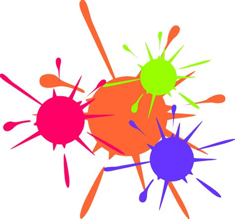 in paint paint free stock photo illustration of paint splatters