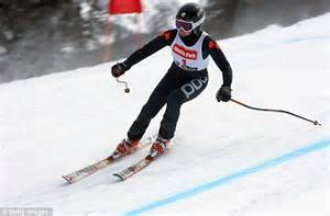 Blind Downhill Skiing american blind skiing foundation blind skiers take to the slopes in winter park daily mail