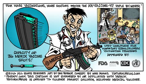 ideological constructs of vaccination books more doctors prefer the ak vaccine 47 rifle by merck comic