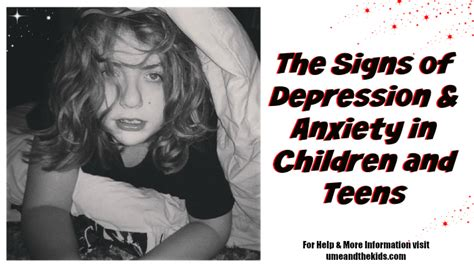 how to a service for anxiety and depression the signs of depression anxiety in children and u me and the