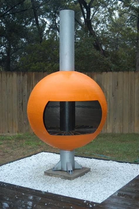 Westlake Modern Chiminea Yeah That S Hemi Orange My
