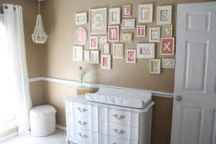 Nursery with soft neutral colors love the fonts for the letters