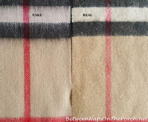 burberry scarf vs real how to tell the difference