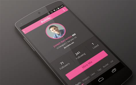 design inspiration apps android 44 mobile android app interfaces for design inspiration