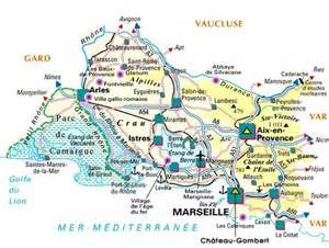 carte departement bouches du rhone d 233 partement bouches