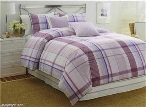 purple plaid comforter nautica pleasant bay twin purple lavender plaid girl