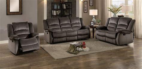 homelegance jarita reclining sofa set chocolate fabric