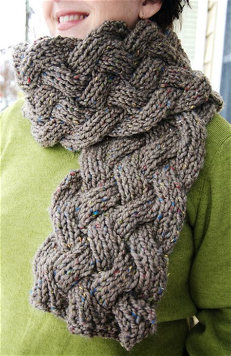 knitting pattern for scarf with bulky yarn free scarf knitting patterns bulky yarn crochet and knit