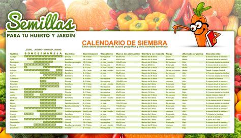 calendario del huerto urbano en setiembre calendarios pinterest calendario del huerto huerta y hortalizas siembra y las