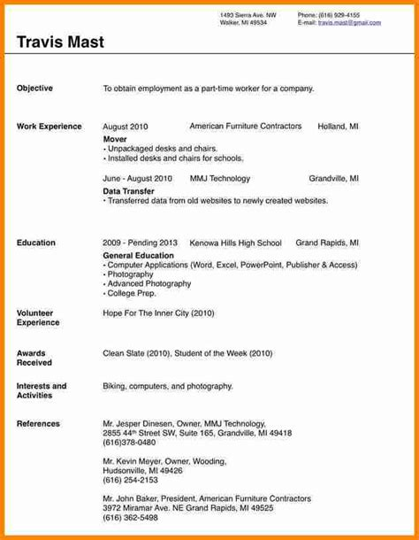 free resume templates microsoft 11 free blank resume templates for microsoft word