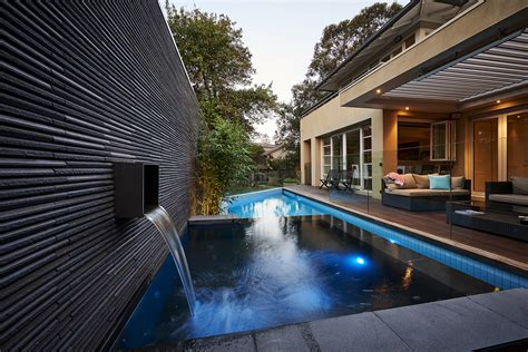 the stevenson projects lap pool spa projects oftb melbourne swimming pool builders