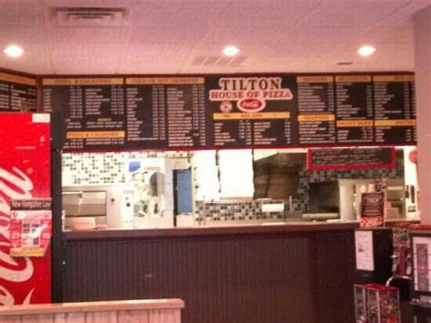 tilton house of pizza tilton nh huge menu picture of tilton house of pizza tilton tripadvisor