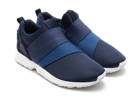 Adidas Navy Casual Slipon adidas zx flux slip on college navy sneakernews