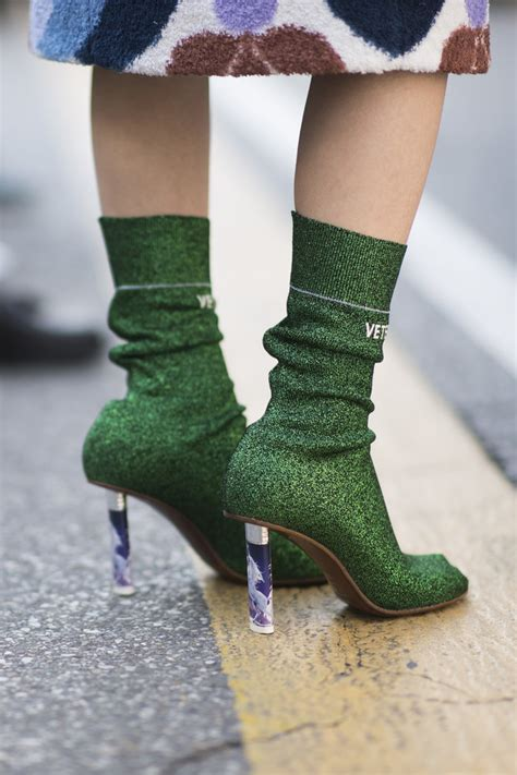 sock boots vogue sock boots trend instyle co uk