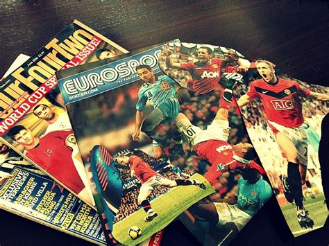Decoupage Magazine Clippings - diy decoupage soccer 1