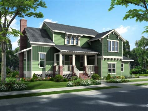 Traditional Bungalow House Plans by Traditional Craftsman Bungalow Cottage House Plan