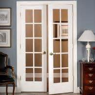 interior french doors home depot 32 in x 80 in 32 in clear pine 15 lite french interior