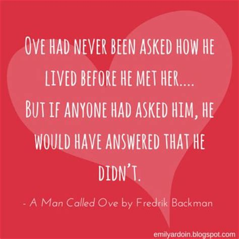 summary of a called ove books quotes a called ove read book clubs