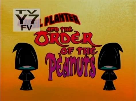 nigel planter and the order of the peanuts the grim
