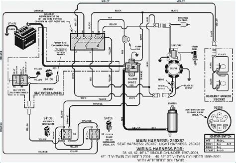 sears lawn mower wiring diagram beamteam co