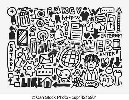 network pattern en français vector clipart of doodle network pattern csp14215901