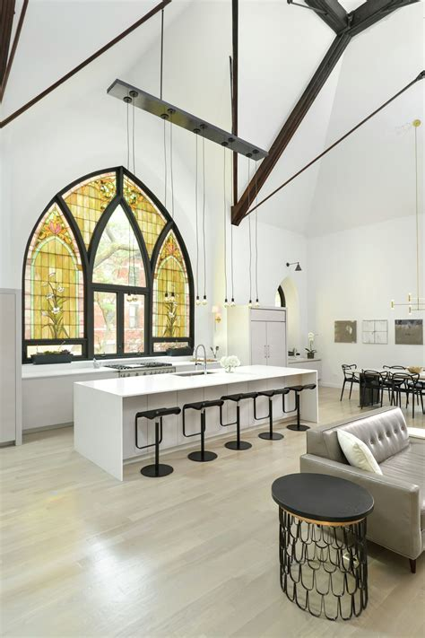 chicago church house old church converted into an eclectic family home