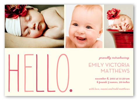 templates for birth announcements for a baby girl hello baby girl 5x7 stationery card birth announcements
