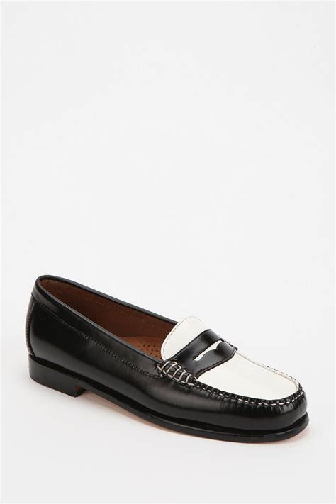 2 tone loafers bass wayfarer two tone loafer urbanoutfitters