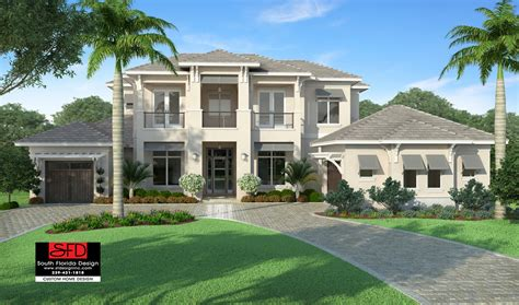 home plans florida riviera coastal contemporary house plan south florida