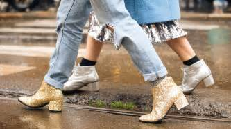 Boot Wedges Gliter Silekat shop this fall s major shoe trend glitter boots instyle