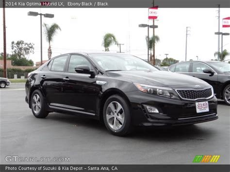 Black 2014 Kia Optima Black 2014 Kia Optima Hybrid Lx Black Interior
