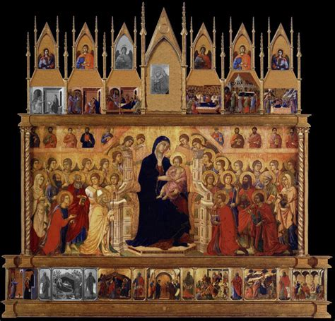 Two Story Workshop by Reconstructing Art Duccio S Maesta Daydream Tourist