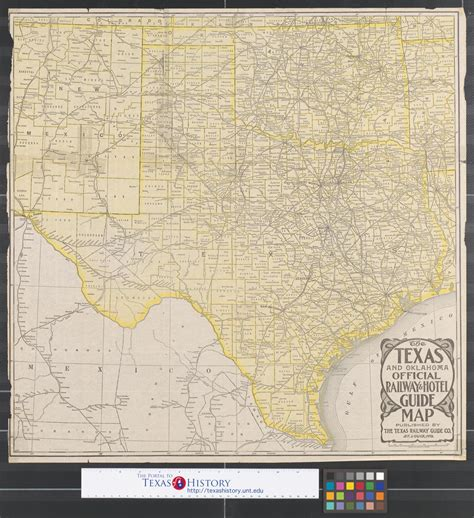 rand mcnally map of texas rand mcnally standard map of texas the portal to texas history