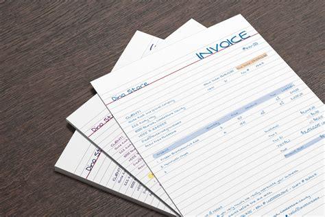 designer handwritten invoice template mo