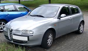 alfa romeo 147 history of model photo gallery and list