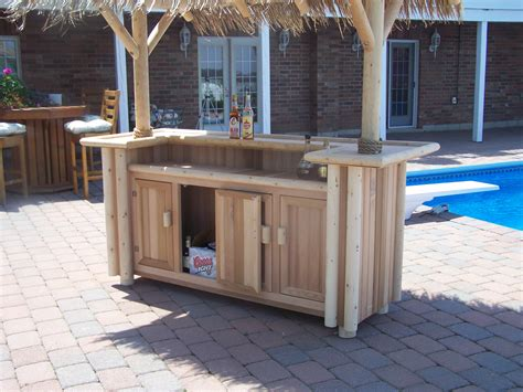 Small Tiki Bar Small 2 Post Tiki Bar Custom Built Tiki Bar S2ptb Zen