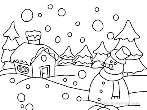 Winter Themed Coloring Pages winter themed coloring pages winter coloring pages of bestofcoloring