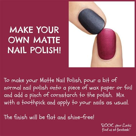 diy matte nail polish nail tips 2 pinterest