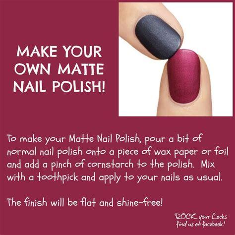 diy matte nail nail tips 2