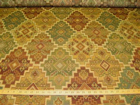 upholstery fabric southwest 2 25 yd textured southwest design upholstery fabric r8677