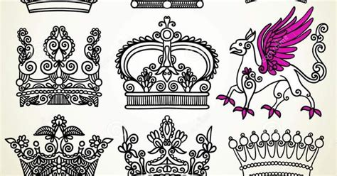 tattoo font royalty free heraldic crown royalty free stock photography image