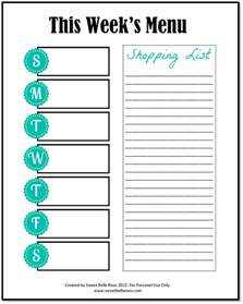 weekly menu planner template word 301 moved permanently