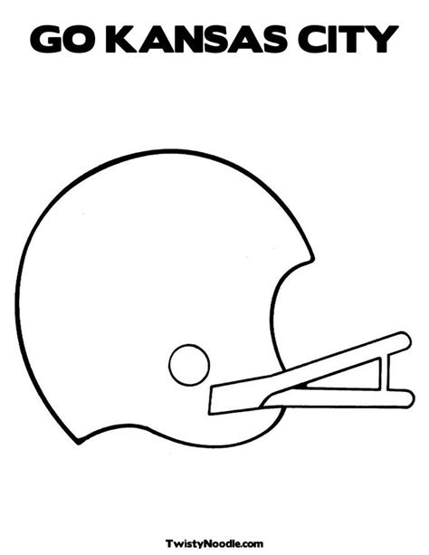 kansas city chiefs free coloring pages