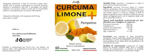 alimenti istaminici curcuma limone pompelmo line