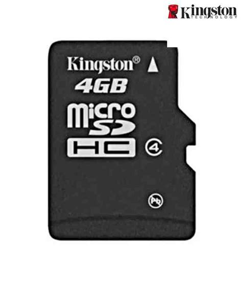 Mmc Memory Micro Sd Kingston 8 Gb kingston 4 gb micro sd memory card available at snapdeal for rs 233