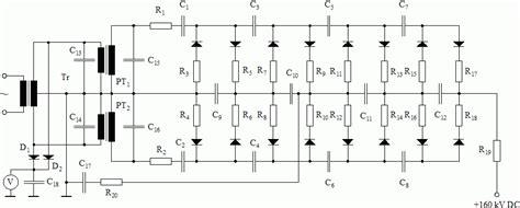 multiplier circuit diagram high voltage