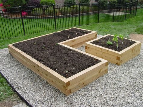 Using Landscape Timbers For Vegetable Garden 25 Best Ideas About Raised Garden Bed Design On
