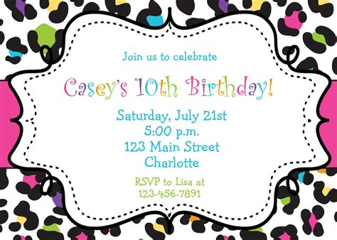 birthday invitations free printable eysachsephoto