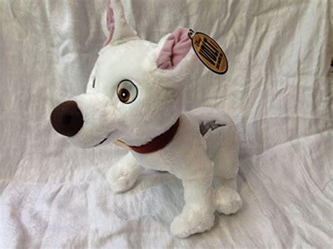 disneyland paris disney bolt dog  standing plush doll