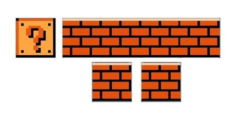 Kettler Brick Block Original mario bros question block